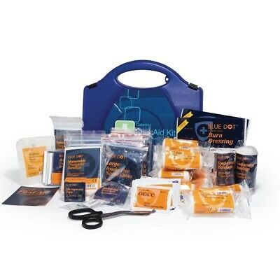 First Aid Kit Hospitality Catering Blue Dot HSE 20 person Emergency Medical