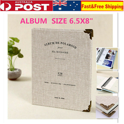 120 Pockets Album Case Storage For Polaroid Mini Photo FujiFilm Instax Memory AU