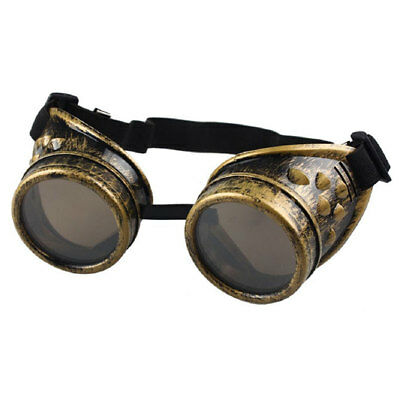 Cyber Goggles Steampunk Glasses Vintage Retro Welding Punk Gothic Victorian Out