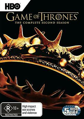 Game Of Thrones : Season 2 - DVD Region 4 Free Shipping!