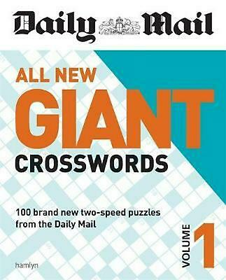 Daily Mail All New Giant Crosswords 1 by Daily Mail Paperback Book Free Shipping