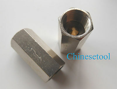 """2pc 3/8"""" BSPP Female Full Ports One Way Air Check Valve"""