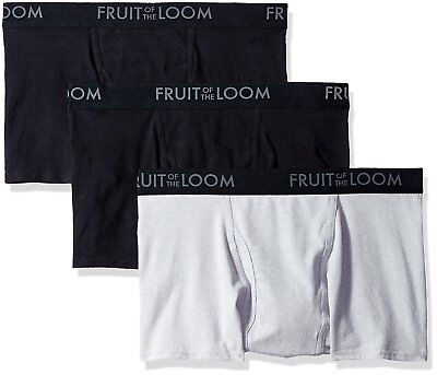 7a5a0832033d FRUIT OF THE Loom Men's Breathable Short Leg Boxer Brief Multipack ...