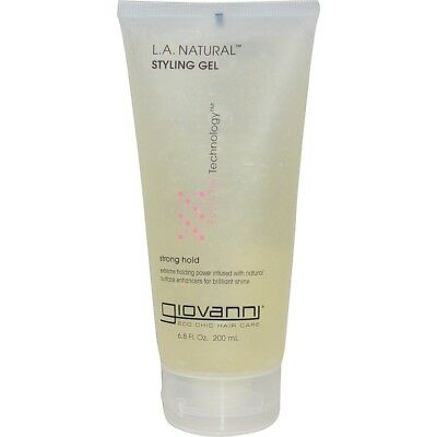 Giovanni L.A. Natural, Styling Gel, Strong Hold  6.8 fl oz (200 ml)