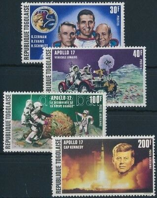Togo stamp Space research set MNH 1973 Mi 972-975 A WS252668