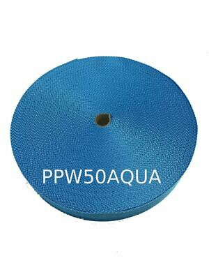 50MM Polypropylene 50 Metre Aqua