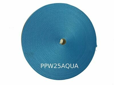 25MM Polypropylene 50 Metre Aqua