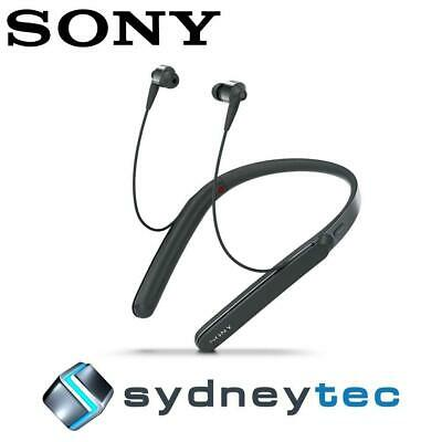 New Sony WI1000X Wireless Neckband Noise Cancelling Headphones Black