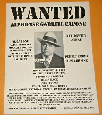 an introduction to the life of al scarface capone Alphonse gabriel al capone was an american gangster who led a prohibition-era crime syndicate the chicago outfit, which subsequently also became known as the capones, was dedicated to smuggling and bootlegging liquor, and other illegal activities, such as prostitution, in chicago from the early 1920s to 1931.