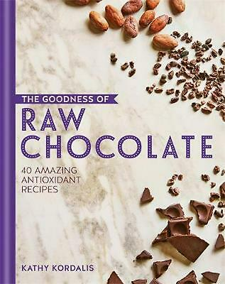 The Goodness of Raw Chocolate by Kathy Kordalis Hardcover Book Free Shipping!