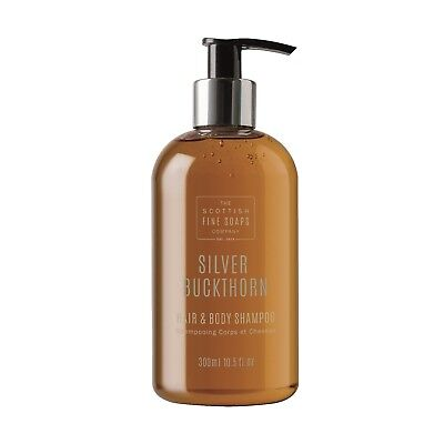 Scottish Fine Soaps Silver Buckthorn Hair and Body Shampoo