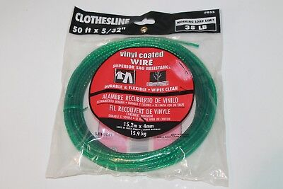 Lehigh Group 955W 50' Vinyl Coated Wire Clothesline