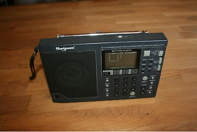 Magnum Radio WR-218 COMPUTER CONTROLLED DIRECT TUNING WORLD BAND RECEIVER