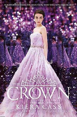 Crown by Kiera Cass Paperback Book Free Shipping!