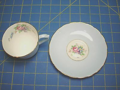 Tuscan Cup & Saucer Fine English Bone China Made In England Excellent Gorgeous
