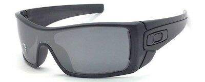 d43ca27de76 Oakley Batwolf OO9101-35 Matte Black Ink   Black Iridium Polarized  Sunglasses