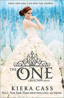 One by Kiera Cass Paperback Book Free Shipping!