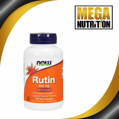 Now Foods Rutin - 450mg x100Vcaps