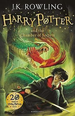 Harry Potter and the Chamber of Secrets by J K Rowling Hardcover Book Free Shipp