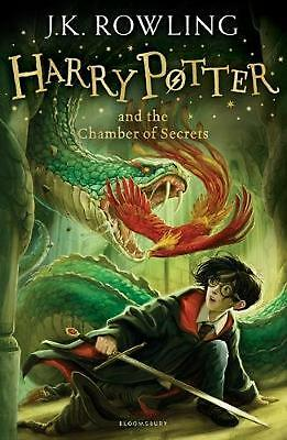 Harry Potter and the Chamber of Secrets by J.K. Rowling Paperback Book Free Ship