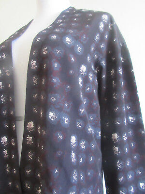 NWT ASOS Maternity Blazer in Blurred Spot Print - Wine / US 4
