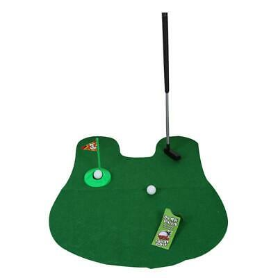 Potty Putter Toilet Mini Golf Game Set Toilet Golf Putting Funny Novelty Game...