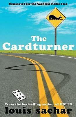 The Cardturner by Louis Sachar (English) Paperback Book Free Shipping!