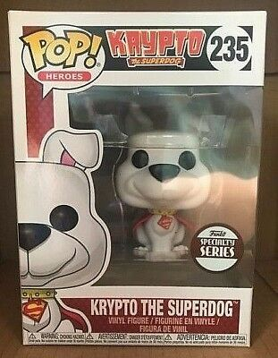 KRYPTO THE SUPERDOG 235 Funko SPECIALTY SERIES POP! vinyl figure RARE NEW