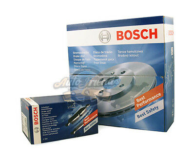 Kit Dischi 266Mm + Pastiglie Pattini Freno Bosch Citroen Peugeot