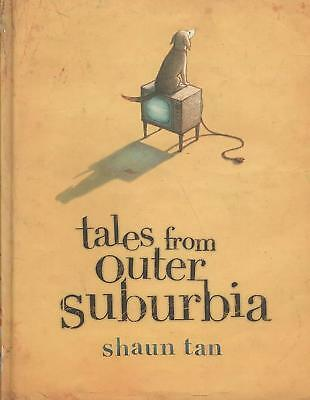 Tales from Outer Suburbia by Shaun Tan (English) Hardcover Book Free Shipping!