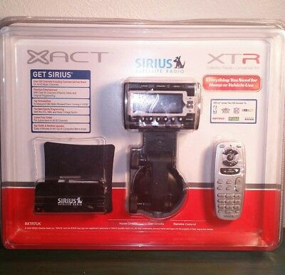 XAct BXTR1UK Sirius Satellite Plug & Play Receiver with Universal Kit SEALED