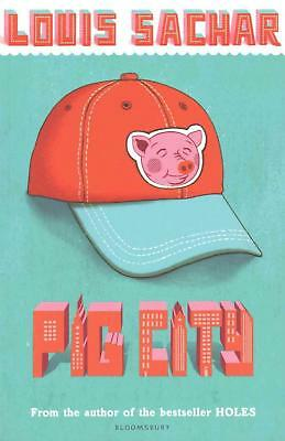 Pig City by Louis Sachar (English) Paperback Book Free Shipping!