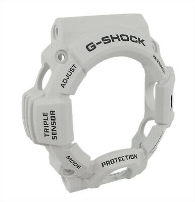 Casio G-Shock Protection GW-9400 | Resin Bezel / Lünette hellgrau