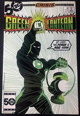 Green Lantern (1960) #195 VF/NM (9.0) Guy Garner becomes the new G.L. Crisis