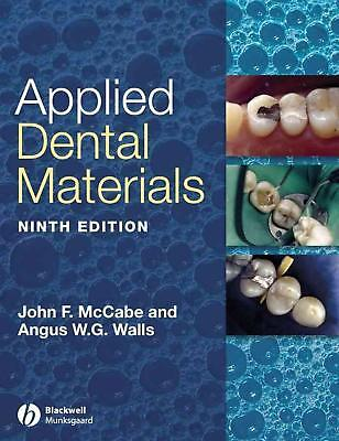 Applied Dental Materials by John F. McCabe (English) Paperback Book Free Shippin