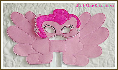 Mask and Large Wings Set - Pinkie Pie  - My Little Pony