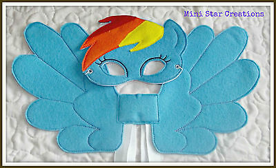 Mask and Large Wings Set - Rainbow Dash - My Little Pony