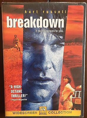 Breakdown (DVD, 1998, Widescreen Collection) New! OOP Free Shipping Canada!