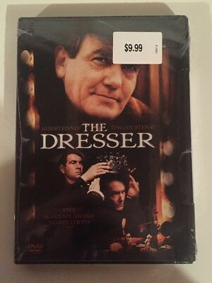 The Dresser (DVD)  Albert Finney Tom Courtenay RARE OOP NEW! Free Shipping!
