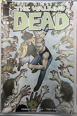 WALKING DEAD 1 San Jose Wizard World Comic Con Exclusive Variant Doran Image