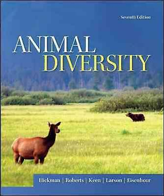 Animal Diversity by Larry S. Roberts (English) Paperback Book Free Shipping!