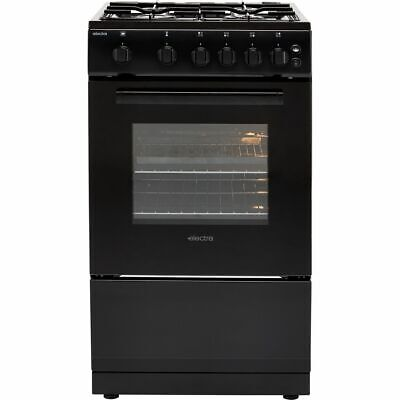 Electra SG50B A Gas Cooker with Gas Hob 50cm Free Standing Black New