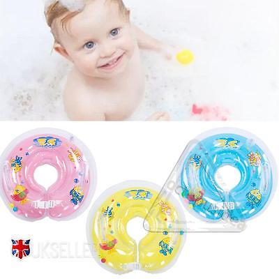 Baby Swimming Neck Float Infant Bath Ring Inflatable Safety Aids 0-18 Months Hot