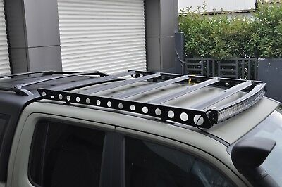 Mitsubishi L200, Fiat Full Back Roof Basket, Roof Rack Rails Bar 2016 Onward