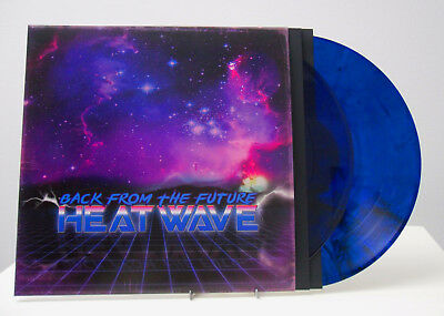 """Heatwave - Back From The Future (2x 12"""" LP) Limited Edition (BLUE) SYNTHWAVE"""