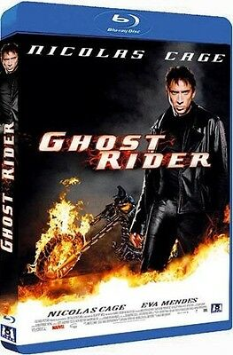 Blu Ray  //  GHOST RIDER   //  Nicolas Cage  /  NEUF cellophané