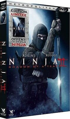 DVD //  NINJA II Shadow of a Tear + NINJA : 1er Film Inclus  //  NEUF cellophané