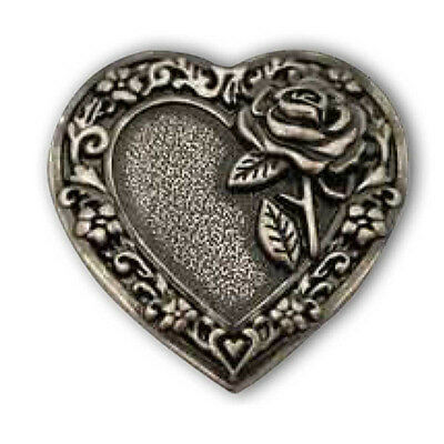 """Heart & Rose Concho 1.25"""" (38mm) 202318"""