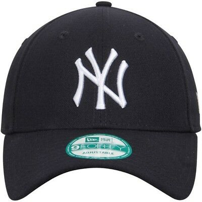 New Era NY New York Yankees 9Forty Baseball Cap Navy Blue Adjustable - OSFA