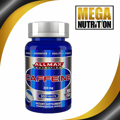 AllMax Nutrition Caffeine 200mg | Energy Pre Workout Diet Weight Loss Slimming